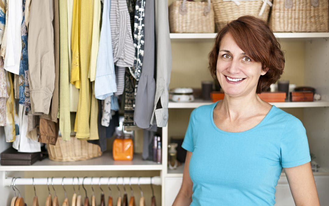 Three Steps to Organizing Your Closet